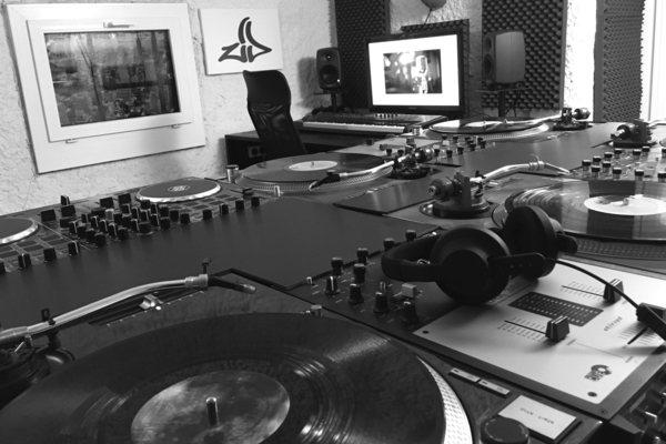 Studio von DJ ZID
