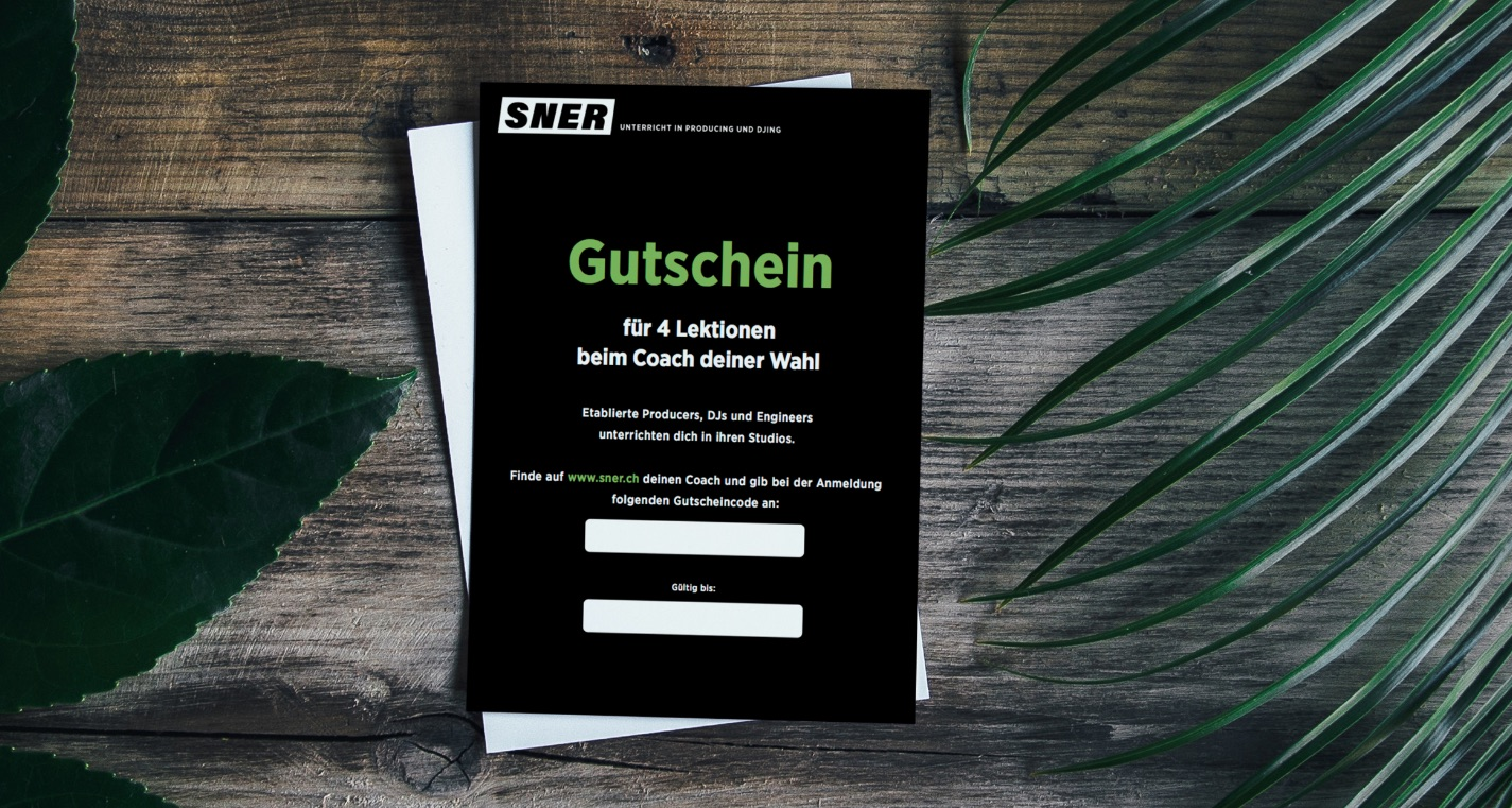 Gutschein in Papierform